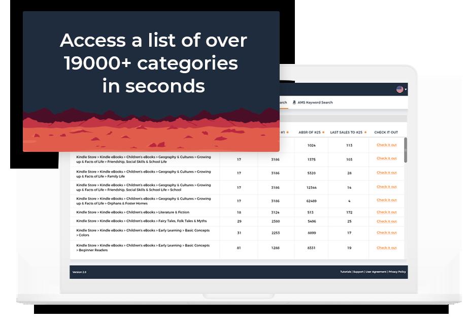 KDP Publisher Rocket category finder